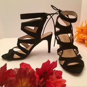Sole Society Cage Sandal Heels